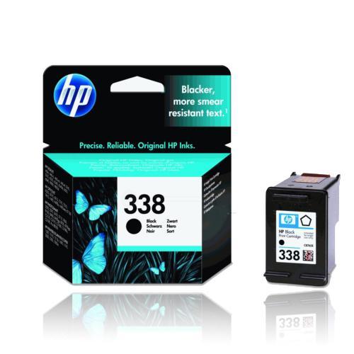 Die Abbildung zeigt eine Druckerpatrone von HP