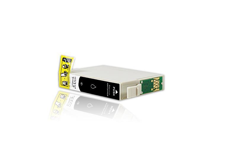 Die Abbildung zeigt eine kompatible Tintenpatrone mit Chip