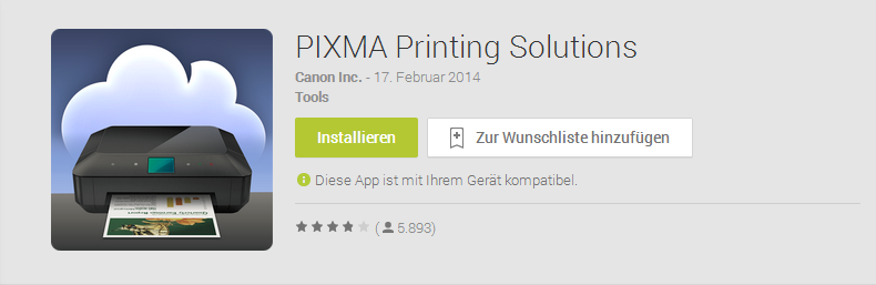 Canon Primax Printer App