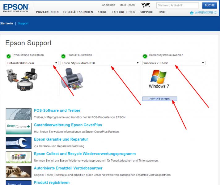 Epson Treiber schnell und einfach installieren