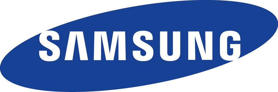 Logo der Firma Samsung