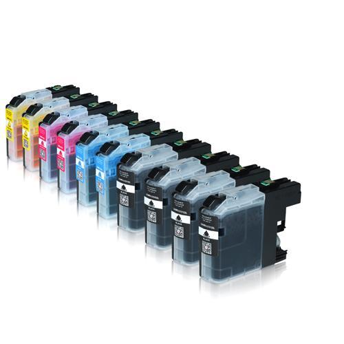 Die Abbildung zeigt kompatible Tintenpatronen