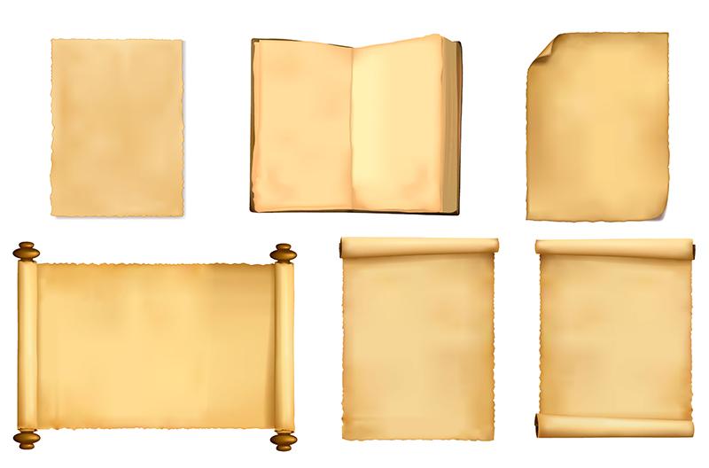 Das Papiergewicht Als Maßgabe Für Unterschiedliche